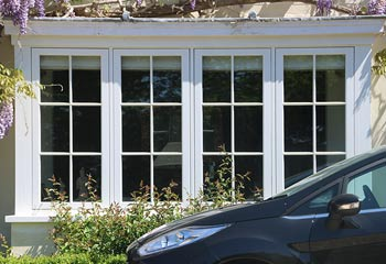 Flush Casement windows are valued for their simplicity and grace
