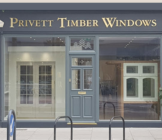 Privett Timber Windows East Sheen Showroom