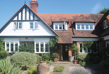 Replacement Flush Casement in Cottage style windows and doors for this rustic cottage in Hindhead, Surrey
