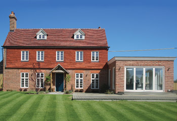 Flush Casement timber windows and bifold doors for this picturesque Country House in Windsor, Berkshire