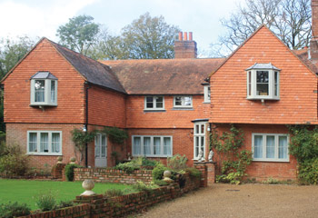 Replacement and new Flush timber casement windows and doors for this ornate country home in Warlingham, Surrey