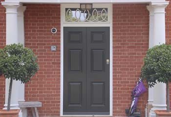 Faithfully Designed Georgian Entrance Door with Top Light