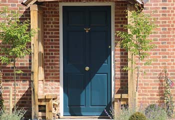Georgian (Colonial Design) Plain Panel Entrance Door