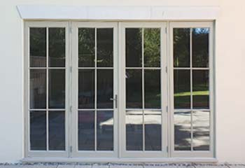 Extra Tall Slimline French Doors with Sidelights