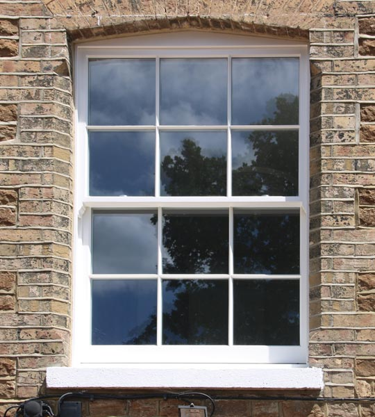 Spring Sash Timber Windows in Clapham